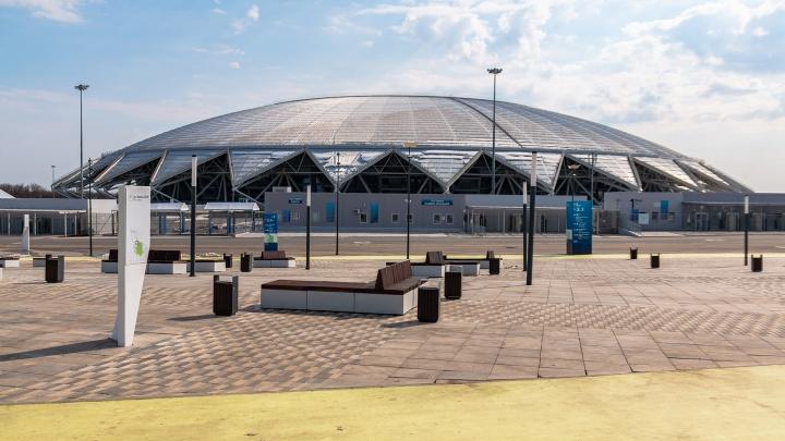 Спортивные клубы ограничили в деньгах из-за строительства инклюзивного парка у «Самара Арены»
