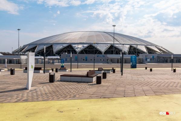 Парк оборудуют на последней миле у стадиона