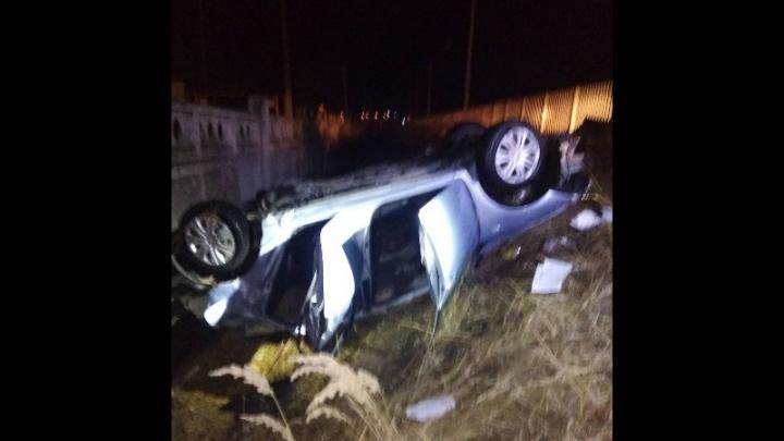 Смертельное ДТП: в Сызрани перевернулась «Тойота», погибли два подростка
