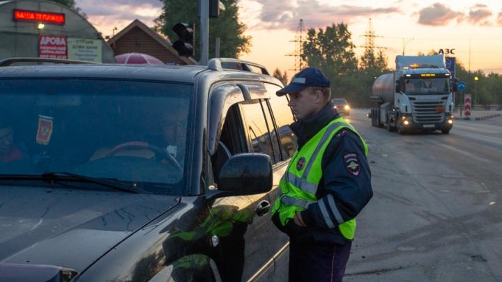 Сотня пьяных новосибирцев попалась автоинспекторам за длинные выходные