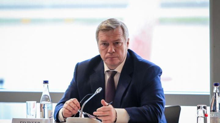 Рейтинг Василия Голубева упал из-за арестов чиновников области