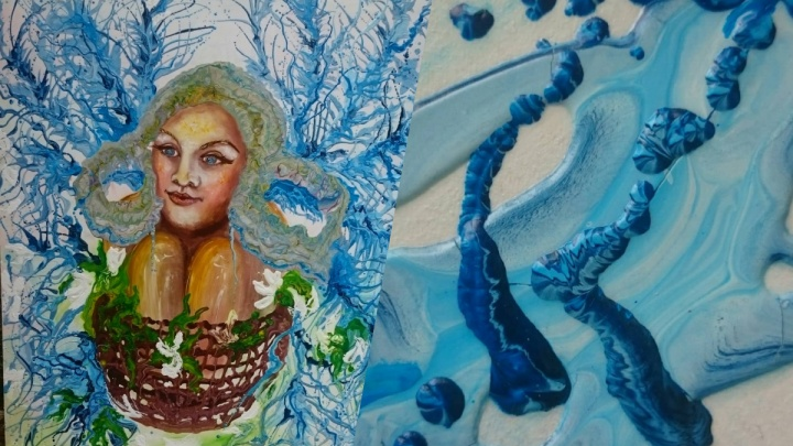 Картина новосибирской художницы стала частью международного календаря