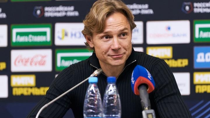 Карпин рассказал о контракте с «Ростовом», чемпионской гонке и мотивации игроков