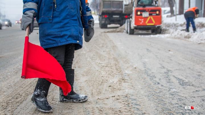 В Самарской области открыли движение по трассе М-5 «Урал» для грузовиков