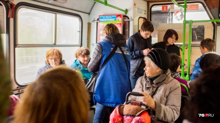 «Не будет такого!»: вЯрославле кондукторы взбунтовались против безналичного расчёта в автобусах