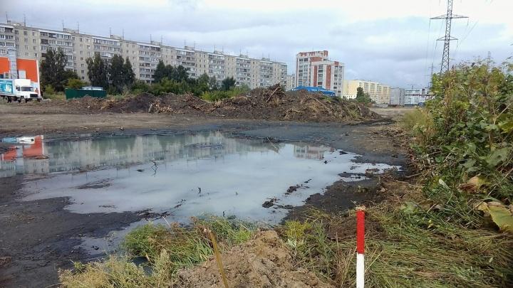 В Заозёрном началось строительство проспекта Мальцева. Сумма контракта — 106 миллионов рублей