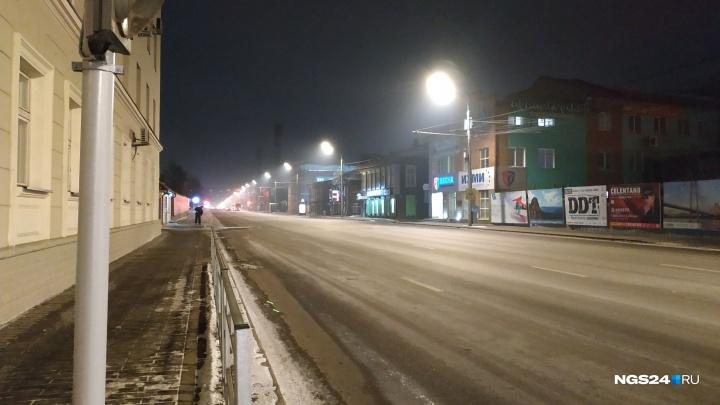 После предложения федерального министра подсветить трубы в Красноярске вновь зашкалили датчики