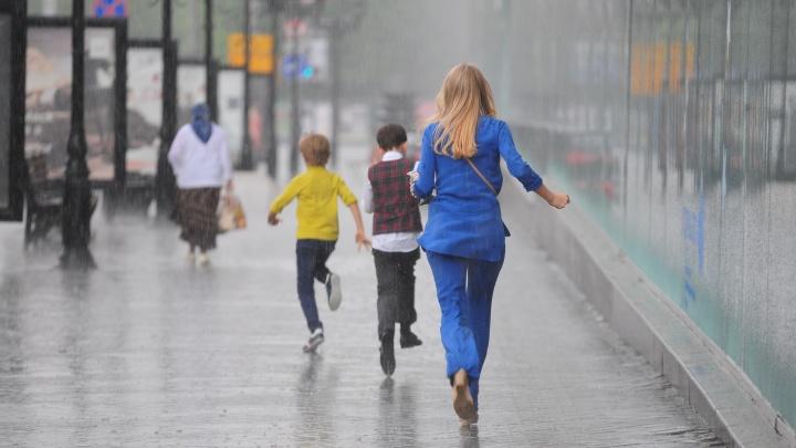 Спасатели предупредили свердловчан о сильных дождях и шквалистом ветре