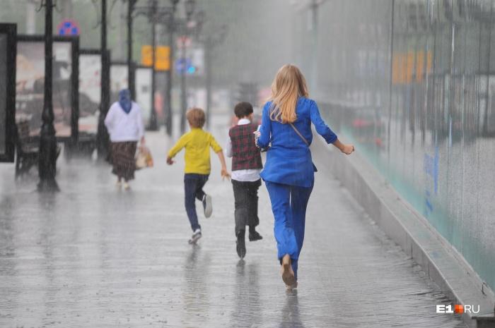 Спасатели просят быть аккуратнее, в сильный ветер и дождь не прятаться под деревьями, а искать надёжное укрытие