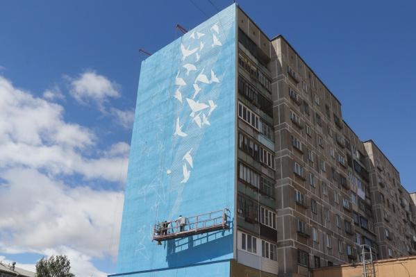 Завершить масштабные граффити должны уже на этой неделе