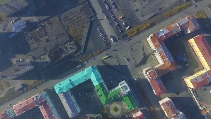 Красноярца оштрафовали за съемку Норильска с квадрокоптера