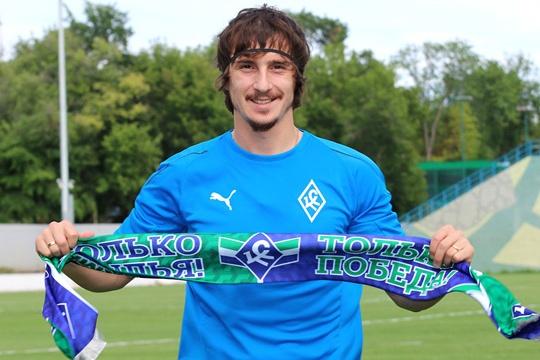 Футболист будет выступать за «Крылья» до конца сезона 2018/2019