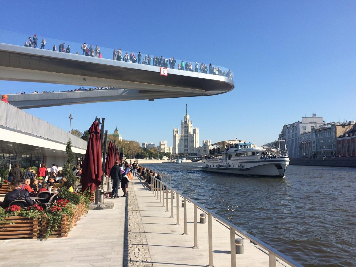 Прототипом станет мост в московском парке «Зарядье»