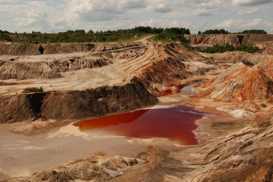Багряные реки — это пропитанные минералами озера