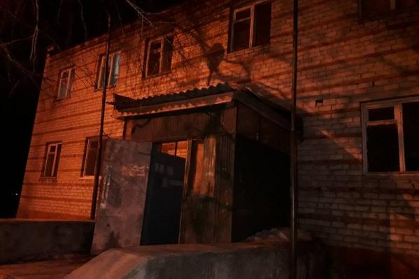 Инцидент произошел в одном из домов микрорайона