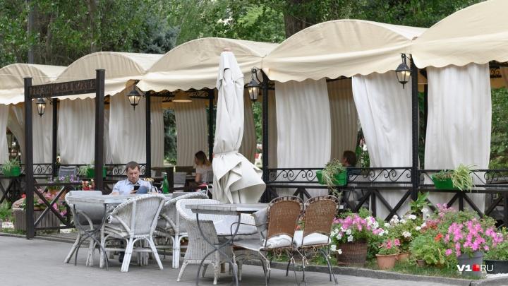 Где в Волгограде можно поесть на свежем воздухе. Обзор летних террас при ресторанах и кафе