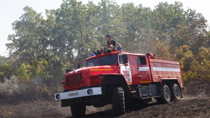 МЧС из-за сильной жары объявило о чрезвычайной пожароопасности в Волгограде