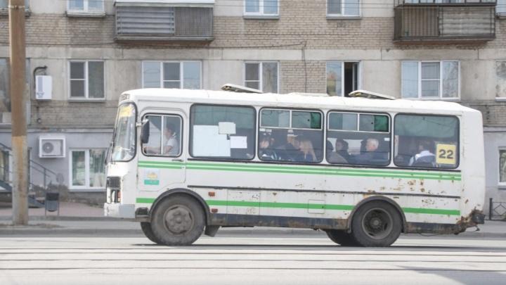 Курганских пассажиров возила маршрутка с неисправными тормозами