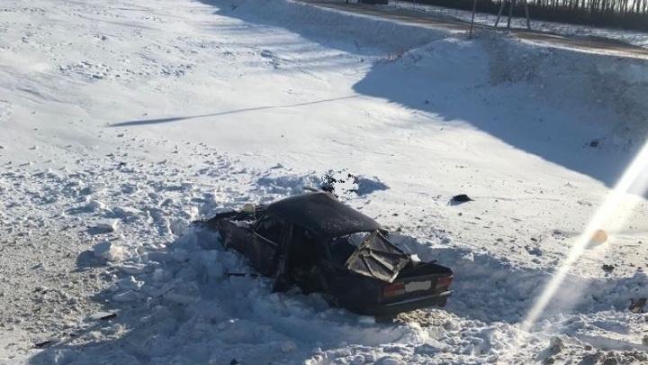 Подробности смертельной аварии в Башкирии: доставленный в больницу пассажир скончался