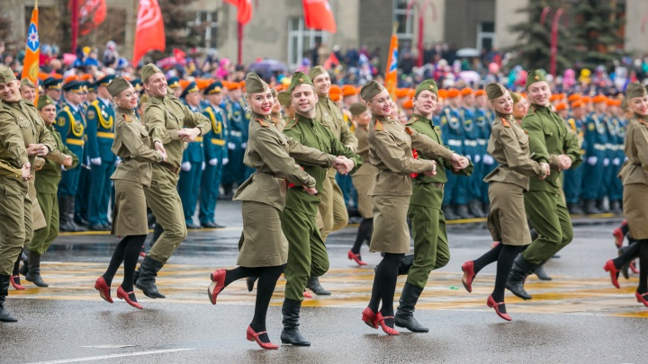 Названы даты репетиции парада ко Дню Победы