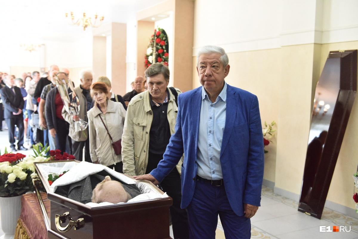 Председатель Свердловского творческого союза журналистов Александр Левин