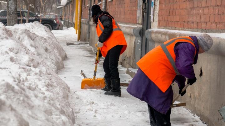 Самарские чиновники предложили горожанам помочь в уборке снега