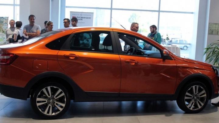 Создана быть уникальной: в Самаре представили новую Lada Vesta Cross