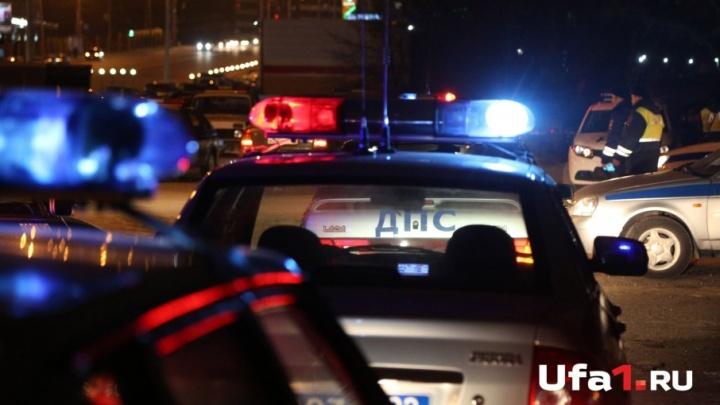 Пятничная погоня: в Уфе дорожные полицейские ловили нарушителя