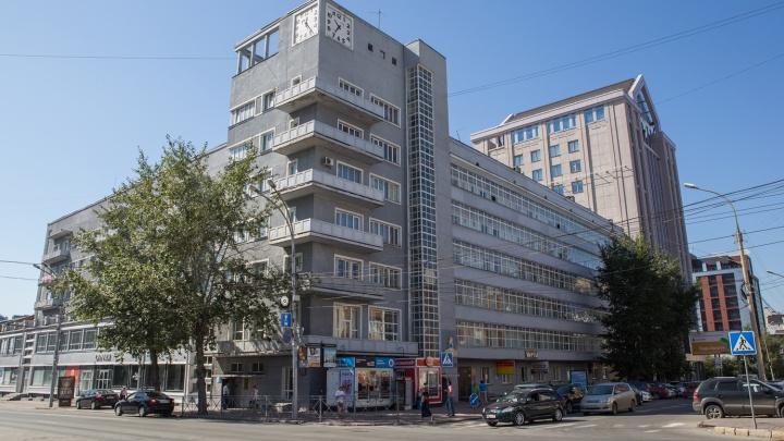 В Новосибирске нарисовали карту конструктивизма — на ней отметили все символы местного авангарда