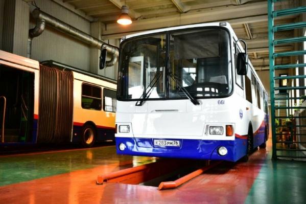 В городе появятся отремонтированные автобусы