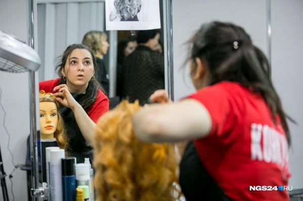 За звание лучшего молодого парикмахера края борются 6 студентов