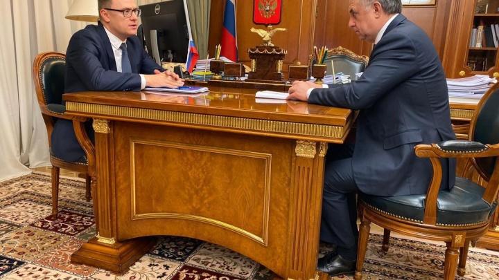 Мутко поручил Текслеру решить вопрос с новыми поликлиникой и школой в Челябинске