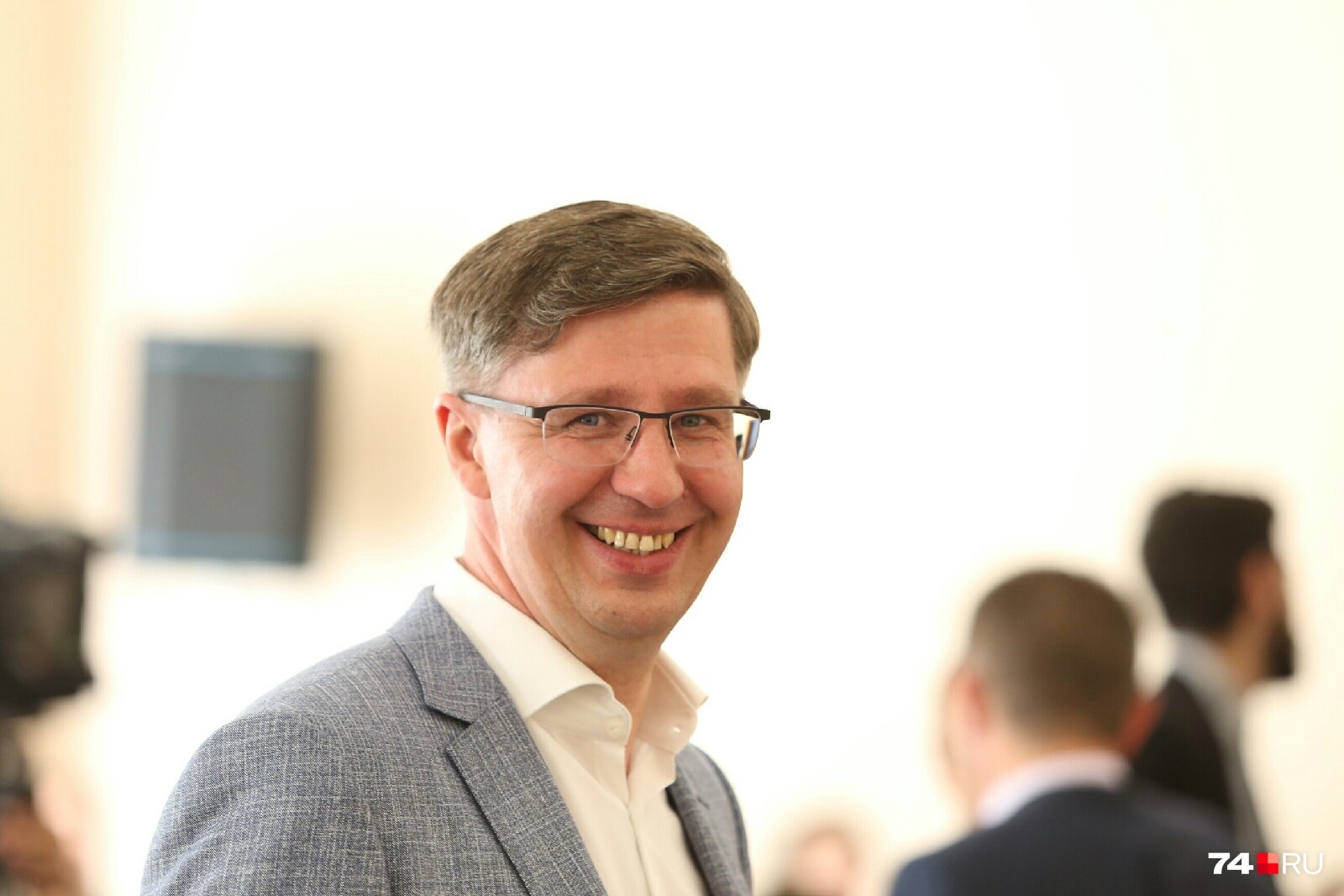 Александр Павлюченко пребывал в прекрасном расположении духа