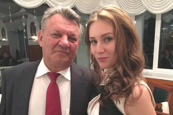 На фото Геннадий и Ксения Лисовиченко