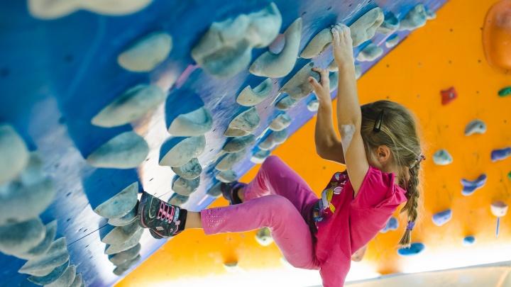 Только польза и никакого риска: открыт набор в детскую секцию скалолазания