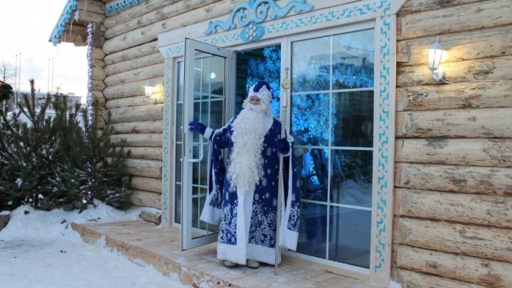 В декабре на площади Куйбышева откроют усадьбу Деда Мороза и катки
