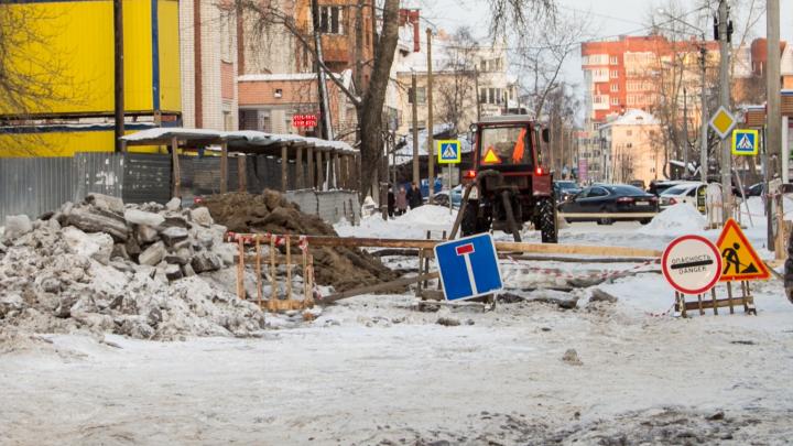Снег выпал — батареи холодные. Отключения теплоснабжения, света и воды в Архангельске на 6 ноября