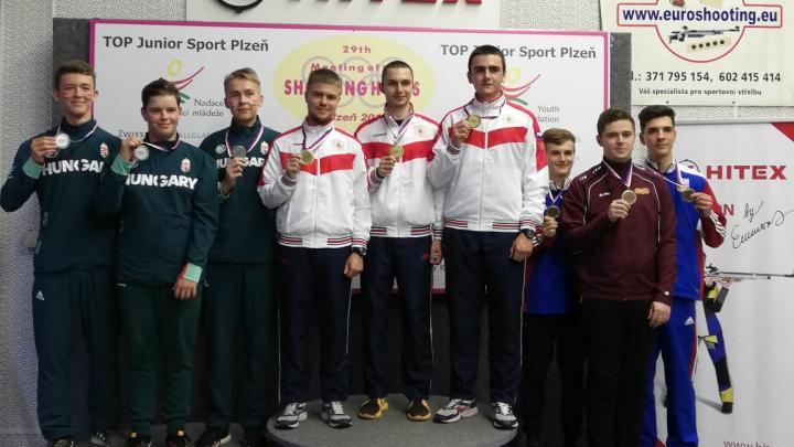 Уступили Франции: поморский стрелок Савелий Тряпицын получил две медали на соревнованиях в Европе