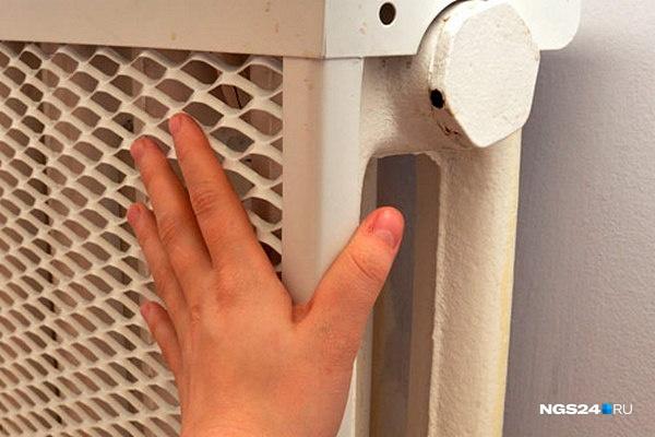 Вжилых домах Красноярска начали включать отопление