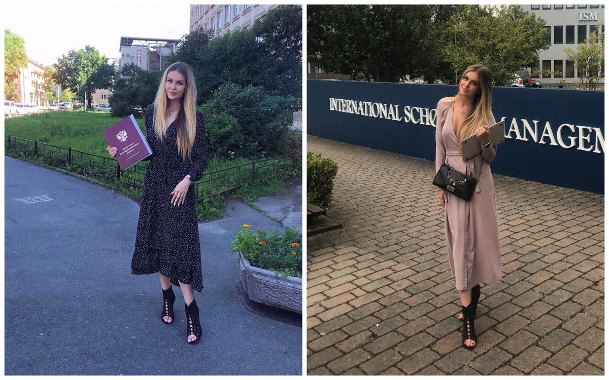 Новая мисс Екатеринбург Виктория Вершинина окончила университет с красным дипломом и училась в США. Почитайте  13 фактов о ней