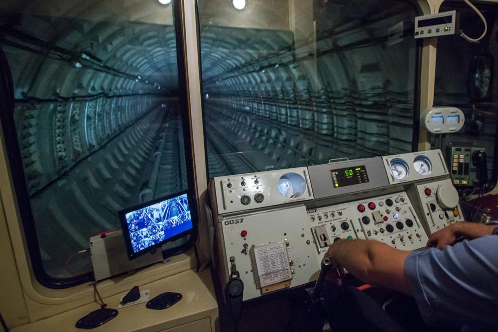 Обходчики нашли сумку в тоннеле