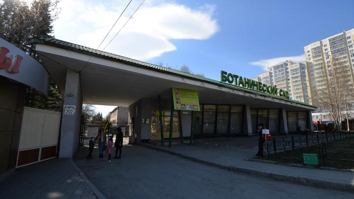 Вход в Ботанический сад Екатеринбурга сделают платным