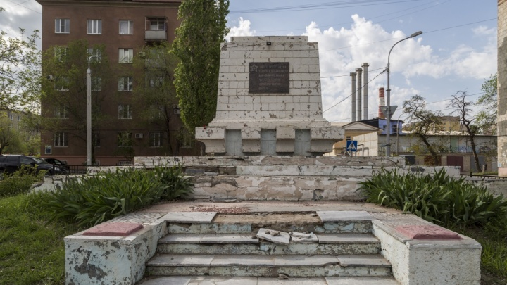 В Волгограде ищут ремонтников разрушенной братской могилы богунцев и таращанцев