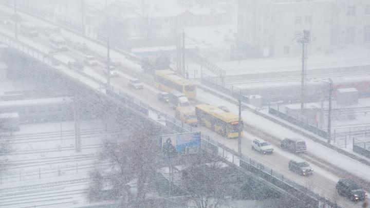 Снегопады и метели придут в Волгоград в последние дни осени