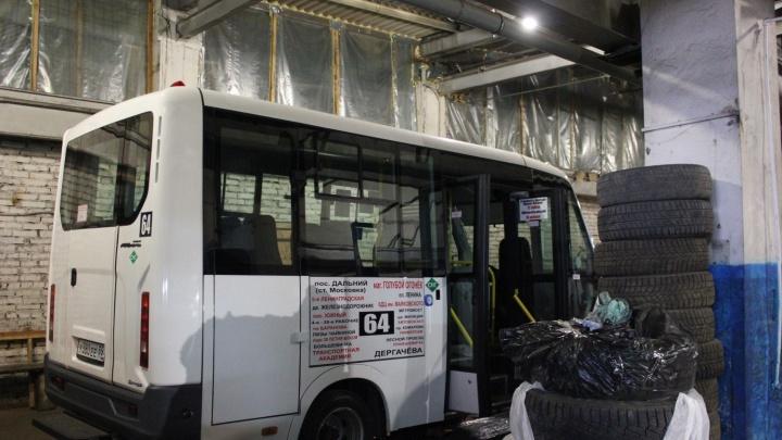 100 новых маршруток для Омска разместят на улице