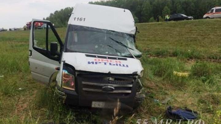 Водителя маршрутки осудили на три года за смертельное ДТП на Черлакском тракте