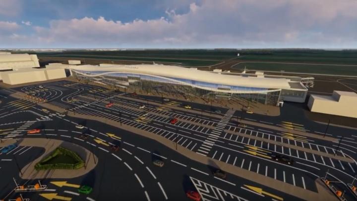 Терминал для ВИПов и большая парковка: показываем, как изменится Рощино после реконструкции