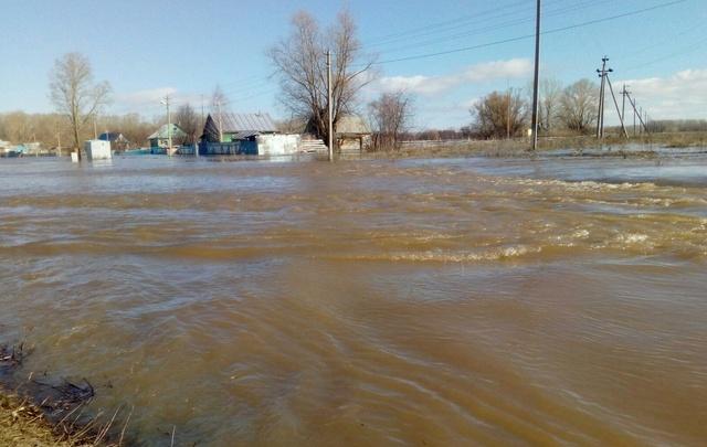 В Башкирии готовятся к эвакуации жителей села