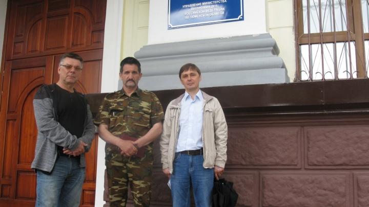 Тюменские бизнесмены, которые собирались пикетировать у здания УМВД, встретились с главой полиции