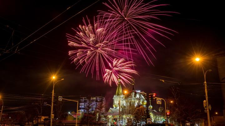Может, бахнем: рассказываем, где можно будет посмотреть новогодние салюты в Новосибирске